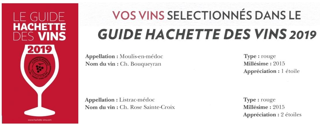 guide hachette 2019 rc 15 2 etoiles et bq 15 1 etoile